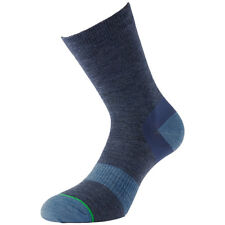 1000 MILE 2 SEASON MENS APPROACH SOCKS BLISTER FREE MERINO WOOL HIKING SOCK NAVY