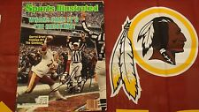 """REDSKINS DARRYL GRANT AUTOGRAPHED SPORTS ILLUSTRATED & 2 8x10""""  PHOTOS"""