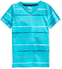 Epic Threads Little Boys' Suez Striped T-Shirt,Scuba Blue, Size 2/2T