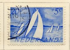 Netherlands 1948-49 Early Issue Fine Used 20c. NW-11734