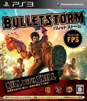 Used PS3 Bulletstorm SONY PLAYSTATION 3 JAPAN JAPANESE IMPORT