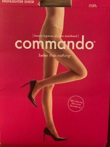 commando highlighter sheer tights Smoke, Bronze S, M, L, XL