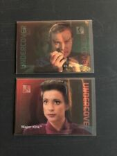 1996 Star Trek 30 Years Set Undercover Major Kira L9