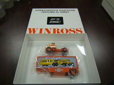Winross International Harvester Historical Series #8 Off to School Buses