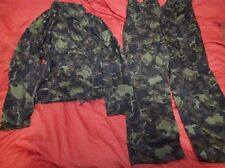 TTsKO Dubok oak rare mabuta cut for airborne troops set VDV Army 54-4