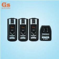 Yongnuo RF-602 2.4GHz Wireless Remote Flash Trigger 3 Receivers 1pcs Transmitter
