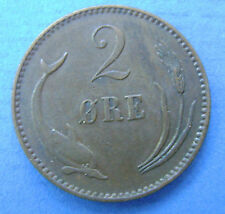 Denemarken- Denmark - 2 Ore 1899 - KM# 793.2 - nice.