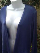 Lavender Open front BOLERO cropped travel knit shrug Size L 14 16  Cardigan