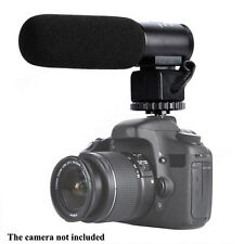 CM-500 Camera Camcorder 3.5mm Direction External Microphone fr Canon Nikon Local