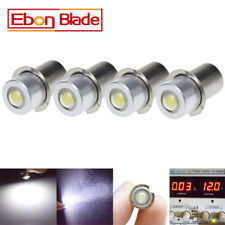 4 x P13.5S 3V-18V DC 1W led Flashlight Replacement Bulb Torch Lantern Work Light