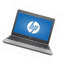"HP 11-v010wm 11.6"" Chromebook, Chrome, Intel Celeron N3060 Processor, 4GB RAM, 1"