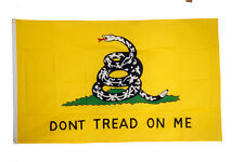 Gadsden Flag 5 x 3 FT  Dont Tread On Me Snake USA Rebel South Southern Tea Party