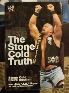 """Stone Cold Steve Austin Signed """"Stone Cold Truth"""" Book with Proof WWE WWF Auto"""