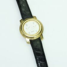 Jean d'Eve 18K Yellow Gold Pacte Perpetual Dual Reverse Watch