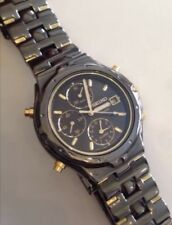 Seiko Cronografo 7t32-6m69 Uomo Orologio Subacqueo 100m 40cm Steel Case & Volume -210