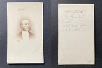 Docteur Eugène Bouchut, médecin pédiatre, circa 1865 vintage cdv albumen print -