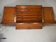 Antique Oa Desktop Writing Box , Stationery Cabinet     ref 4124