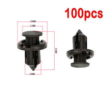 Bumper Hood Fender Splash Guard Retainer Clips Fasteners for Honda Acura 100 Pcs