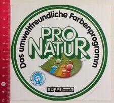 Aufkleber/Sticker: BÜFA Baeuerle - Pro Natur (230317133)