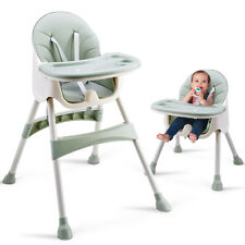 Convertible High Chair Baby Dining Booster Seat Adjustable Feeding Highchair