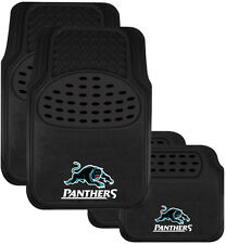 7008 NRL CAR FLOOR MATS - NRL PENRITH PANTHERS - Set of 4 - All Teams Available