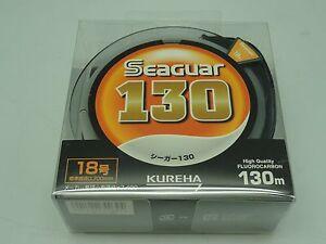 SEAGUAR 100% FLUOROCARBON Japan # 18 KUREHA LINE U.S 70 lb 130m/143yds new stock