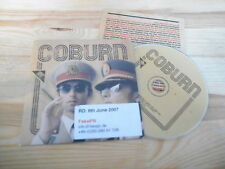 CD Indie Coburn - Same / Untitled (19 Song) Promo GROOVE ATTACK cb / Presskit