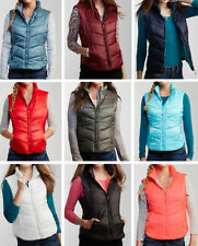 Polyester Juniors Size M Solid Vests for Women