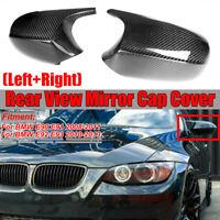 Fibre carbone Miroir Couverture Pour BMW 3 series E90 E91 2008-2011 E92 E93 LCI