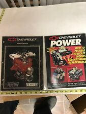 Chevrolet Power Catalog And Chevrolet Power Book Factory Performance Guide