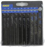 ED327 - Kit lame per sega 10 pezzi Kinzo