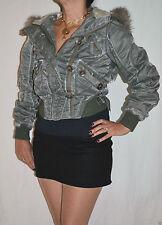 Polyester River Island Zip Waist Length Women's Coats & Jackets