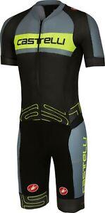 Castelli San Remo 3.2 Men's Speedsuit Cycling Skinsuit Size Large