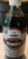 Jamaican Benjamins Vanilla Flavouring 1 Bottle 480 ml (16 fl oz) - From Jamaica