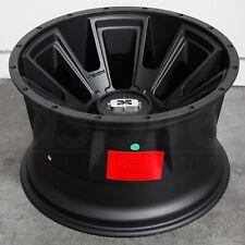 20x12 Satin Black Wheels Vision 391 Rebel 6x135/6x5.5 -51 (Set of 4)