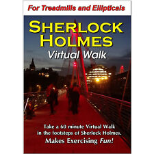 Sherlock Holmes Treadmill Walk Dvd Scenery Video - Low Impact Exercise Fitness !