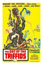 "The Day Of The Triffids Sci-Fi Movie Poster 12"" X 18"""
