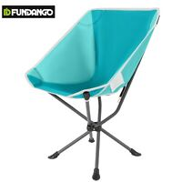 FUNDANGO Camping Chair Portable Durable Steel Comfort Stable Folding Chair