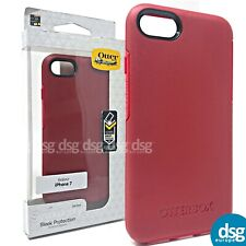OTTERBOX SYMMETRY CASE COVER FOR APPLE IPHONE 7 8 RED HARD 77-53903 SHOCK
