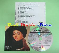 CD MINA Si buana vol.2 1986 switzerland PDU CDP 7463442 (Xi3) no lp mc dvd