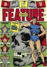 Feature Comics #80 Photocopy Comic Book, Doll Man