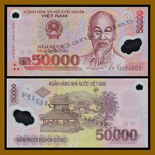 Vietnam (Vietnamese) 50 Thousand (50000) Dong, 2012 P-121 Polymer Unc