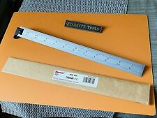 "Starrett No. Ch604r 12"" Long Hook Spring-tempered Steel Rule With 4r Graduation"