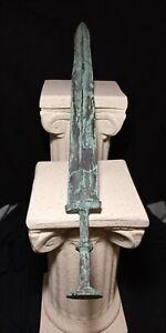 2,000 YR OLD ANCIENT ROMAN SWORD, PERSIAN, LURISTAN, GREEK, NEAR EASTERN