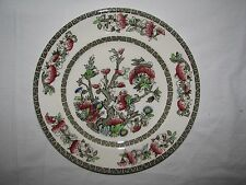 Johnson Brothers China Indian Tree Luncheon Plate multi brown transferware