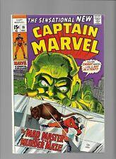 Captain Marvel comics 19 20 21 Mad Master Hulk Rat Pack Rick Jones Capt America
