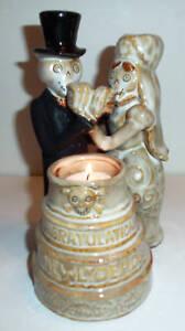 Boney Bunch Wedding Cake Votive Holder 2010 RETIRED