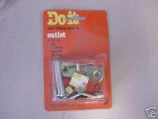 """Self Drilling Valve & Outlet, 1/2"""" to 1 3/8"""" pipe"""