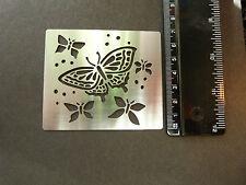 Acero Inoxidable * * Plantilla * Mariposa * Mariposas * Grabación en Relieve * relieve