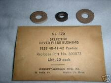 NOS Pontiac Transmission Shifter Selector Bushing Set 39 40 41 42 1939-1941 1942